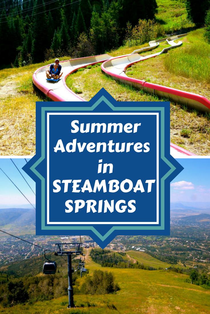 Summer Adventure in Steamboat Springs. Colorado.