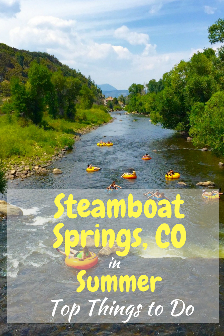 Steamboat Springs, CO in the summer is an amazing time to visit.