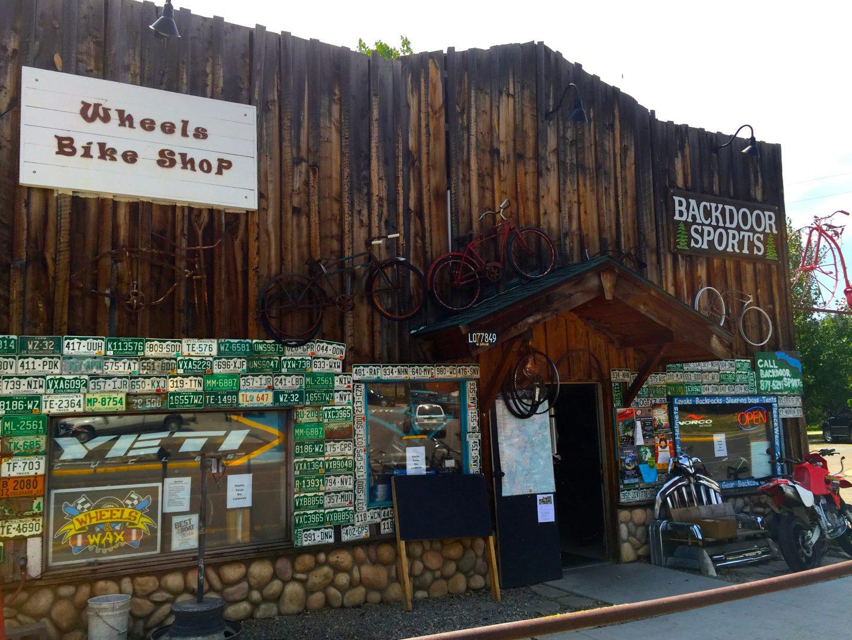 Renting bikes in Steamboat Springs, CO.