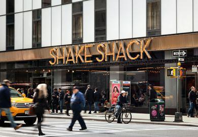 Shake Shack Times Square