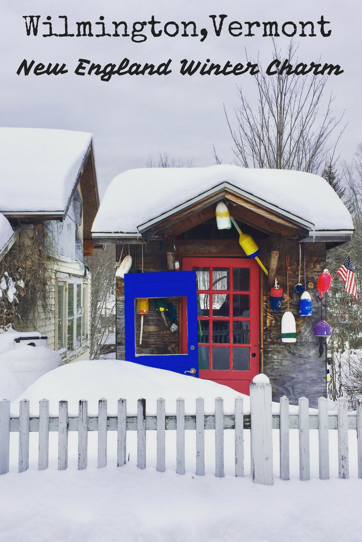 A trip through charming Wilmington Vermont in winter