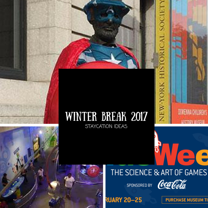 Winter break 2017 staycation ideas for the new york area for Winter break vacation spots