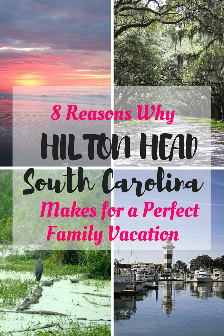 Hilton Head island in South Carolina makes for a perfect family vacation destination because it's easy, has a ton of beaches and lots of outdoor activity.