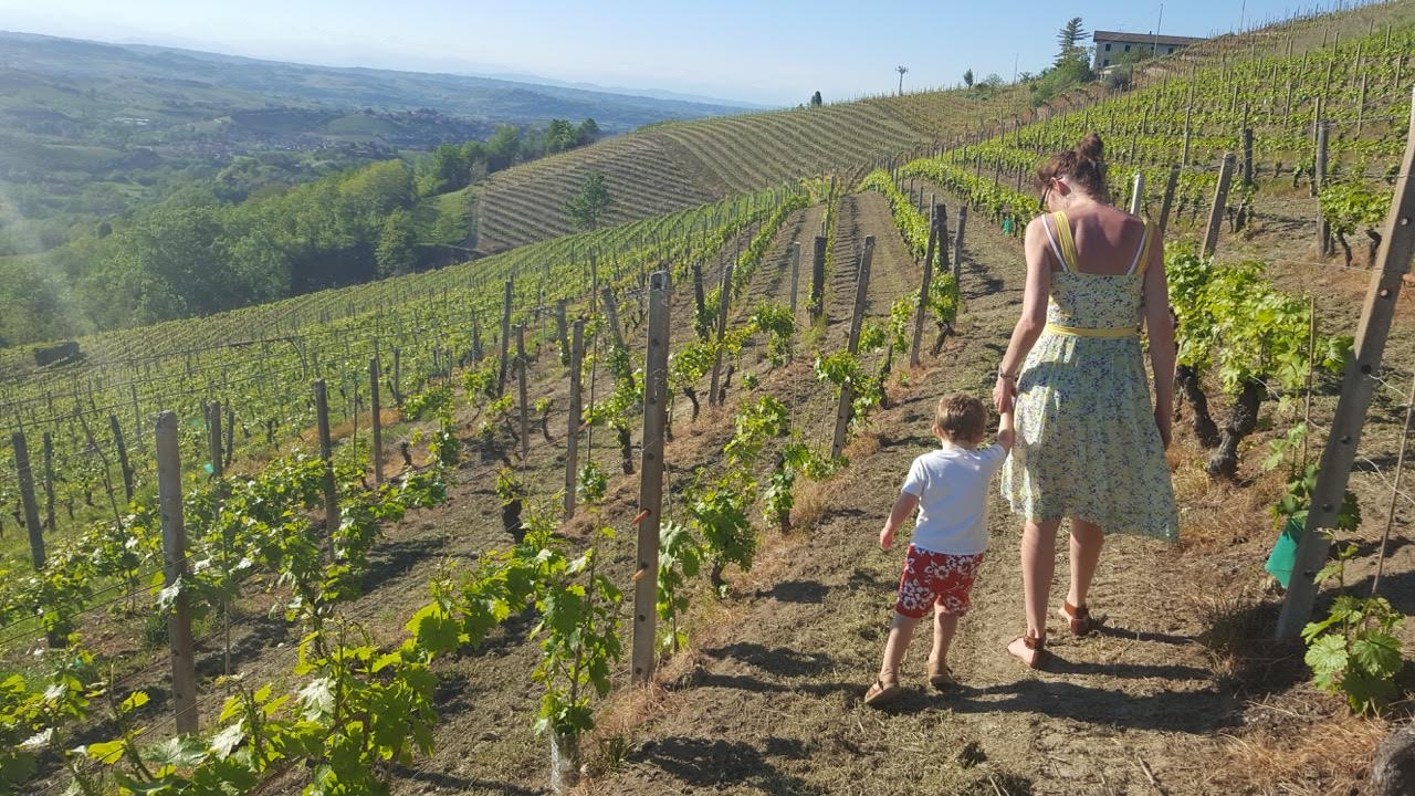 Discovering the hills of Piedmont Italy on a family summer vacation.