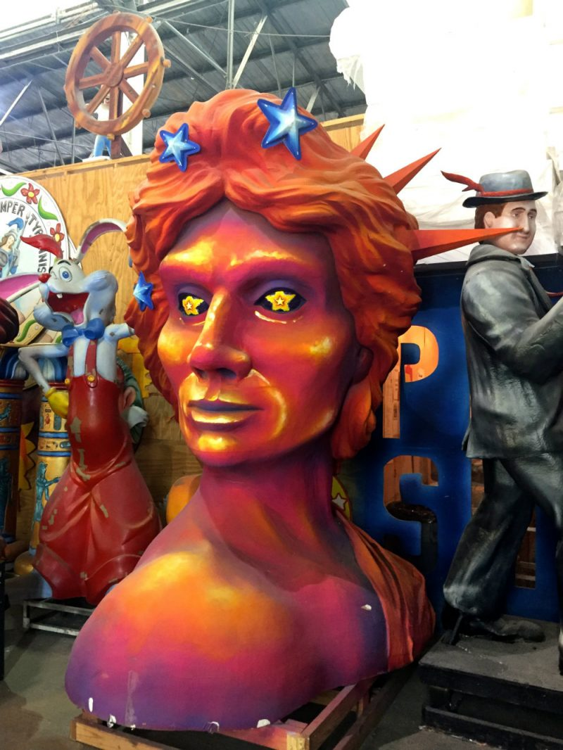 Mardi Gras float at Mardi Gras World