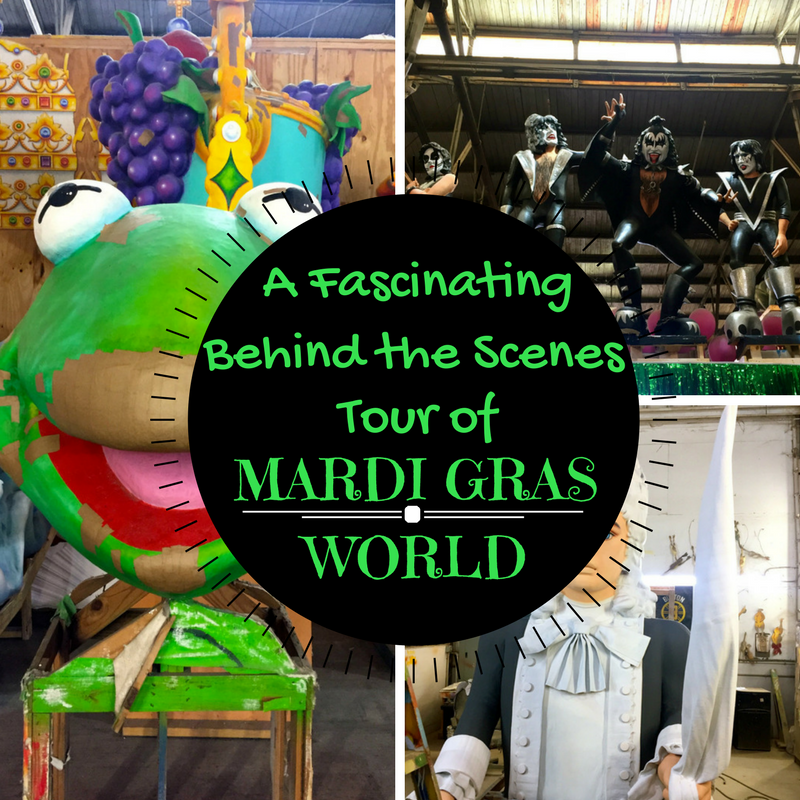 Tour of Mardi Gras World