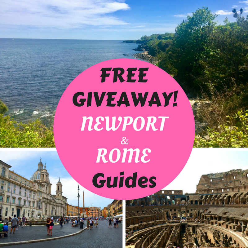 Free giveaway guides to Newport, Rhode Island and Rome