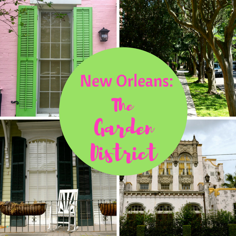 What to do in the garden District in New Orleans