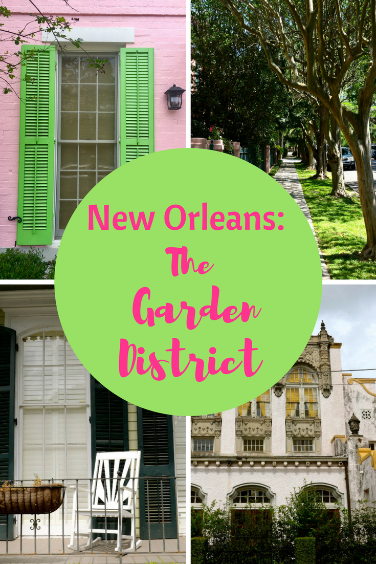 Exploring the Garden District in New orleans