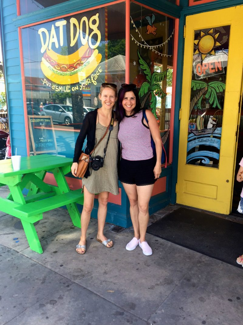 Blogger meet up in the Garden District in New Orleans!