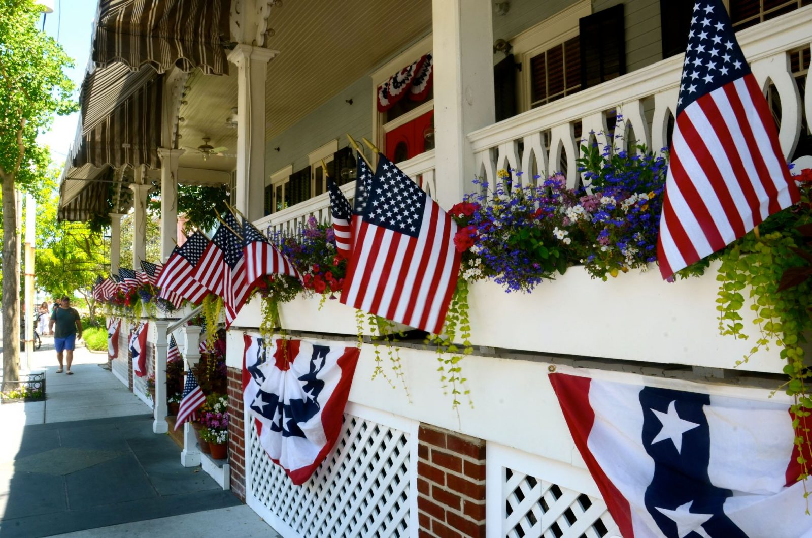Independence Day in Cape May, NJ