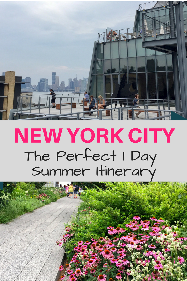 The perfect 1 day summer itinerary in New York City