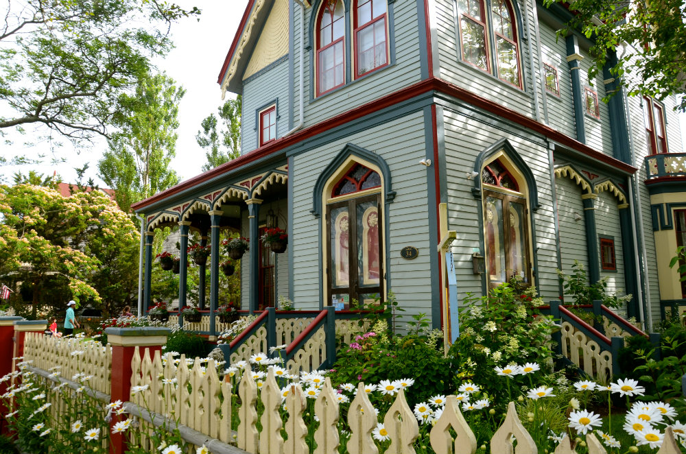 Cape May historic district in New jersey is filled with adorable inns.