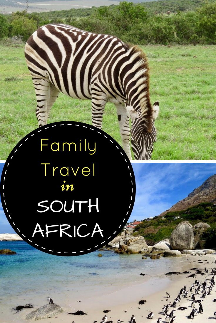 Family travel in South Africa