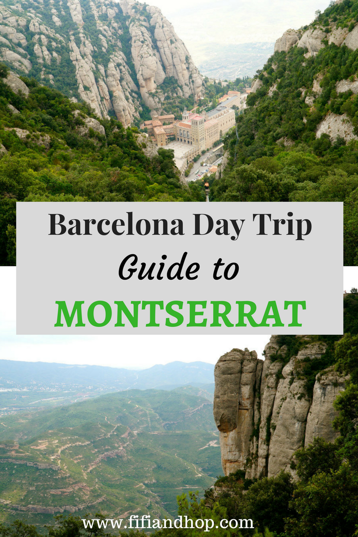 Barcelona day trip and guide to Monsterrat