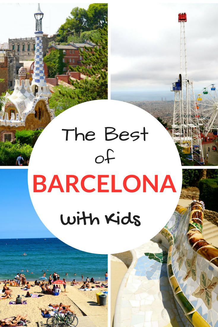 The Best of Barcelona with Kids, including the beach, parks, museums, Tibidabo amusement park and more.