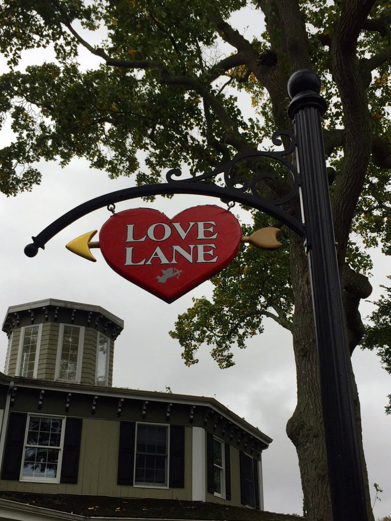 Love Lane in Mattituck, North Fork, Long Island