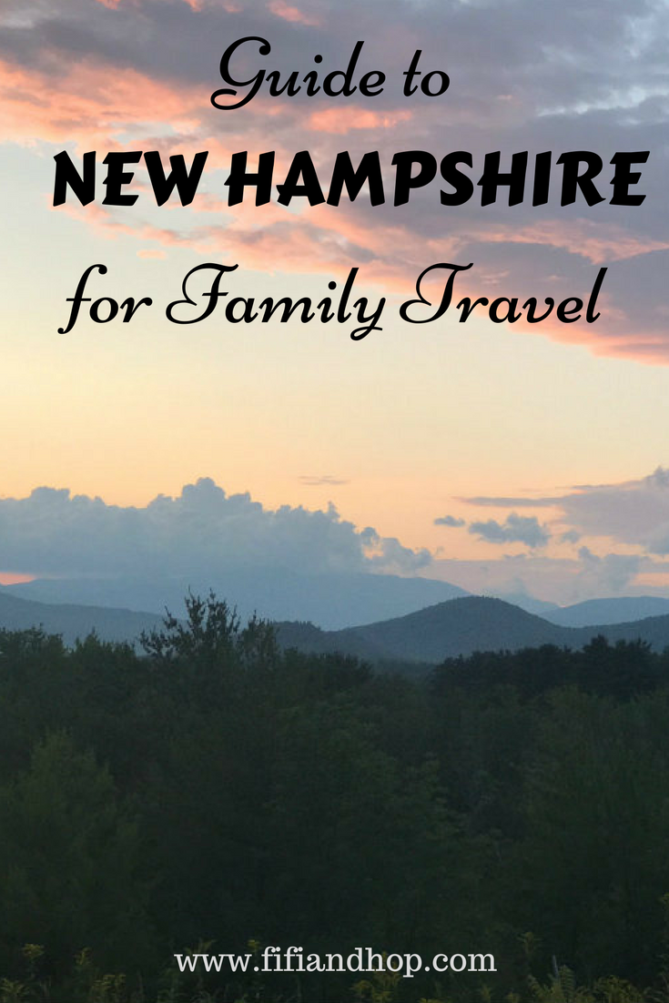 Family travel guide to New Hampshire