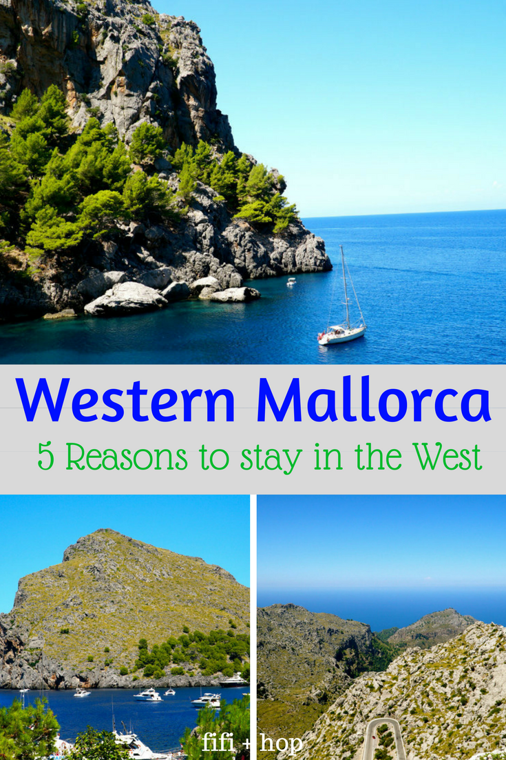 Western Mallorca: 5 Reasons to stay in the mountains in the West on the Spanish island. #westernmallorca #mallorca #mountains