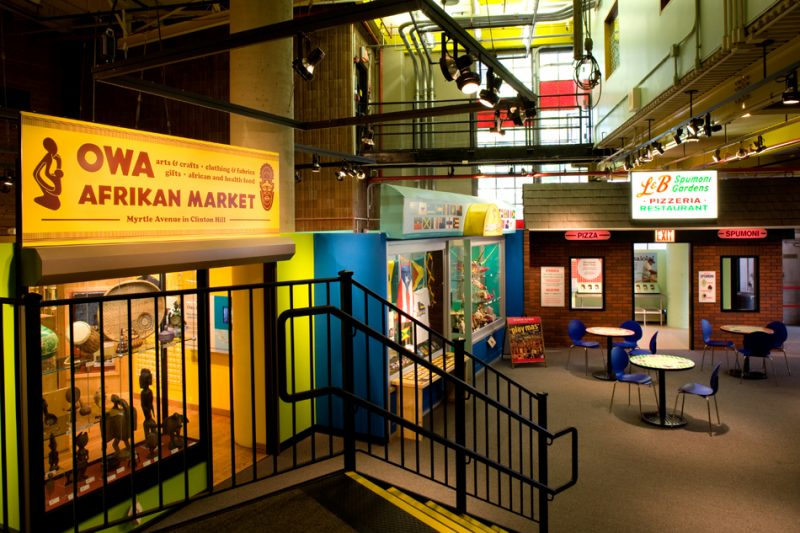 The Brooklyn Children's Museum is one of the best family-friendly museums in New York City