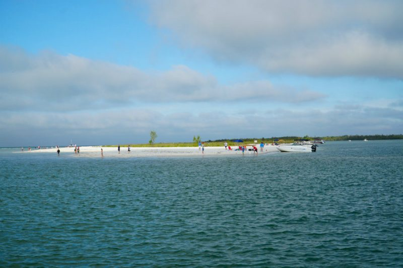 Approaching Keewaydin Island in Florida