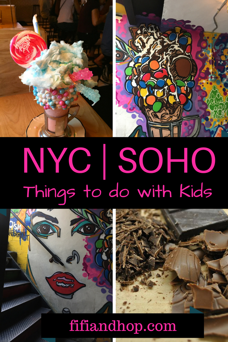 Things to do with kids in SoHo, New York City.