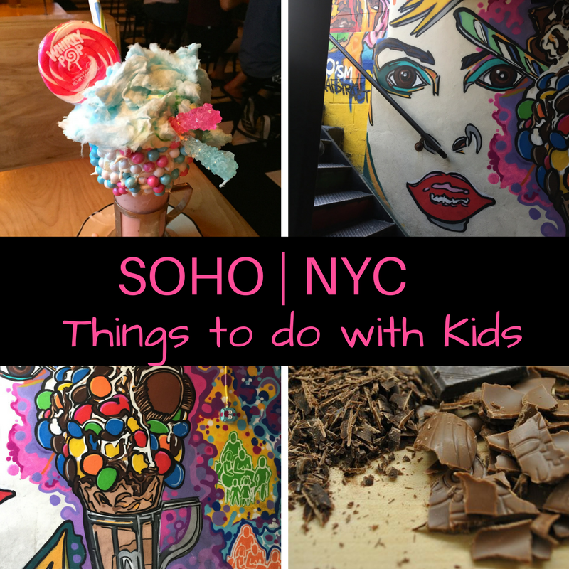 New York City: Things to do with Kids in SoHo