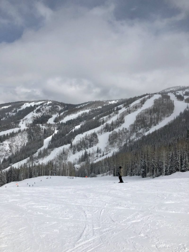 Steamboat Springs mountain is known for its champagne powder